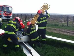 Na Znojemsku havaroval kluzák, pro pilota letěl záchranářský vrtulník