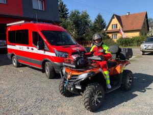 Při hledání pohřešovaných nám pomáhají čtyřkolky i letadlo, říká zakladatel Czech SAR Teamu