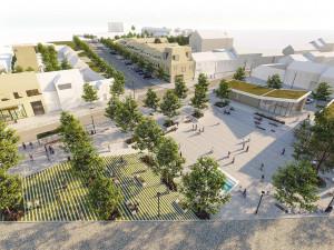 Líšeňské náměstí Karla IV. čeká proměna