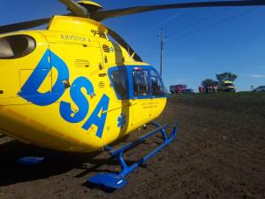 Záchranáři vyjížděli k nehodám motorkářů, střet s dodávkou skončil tragicky