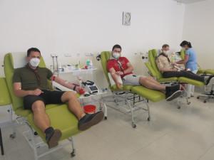 Brněnští skauti darovali 17 litrů krve, motivují prvodárce
