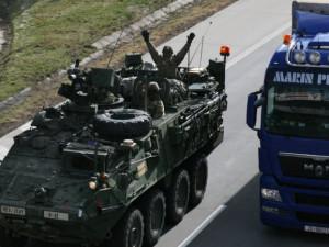 Přes Česko přejedou tři konvoje amerických vojáků, jejich cílem bude cvičení v Maďarsku