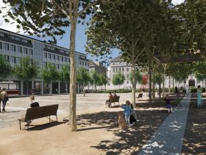 Architekti vybrali budoucí podobu náměstí Míru