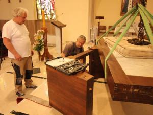 Kaple sv. Jana Nepomuckého v Římě dostala oltář z brněnského Petrova