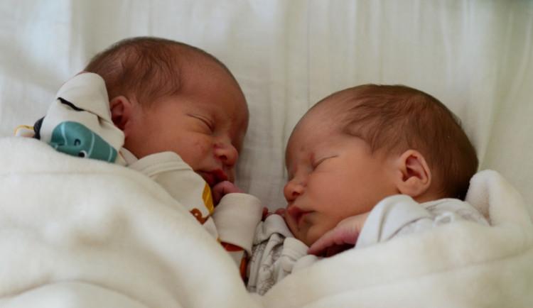 Nedočkavá dvojčátka se narodila před příjezdem do nemocnice