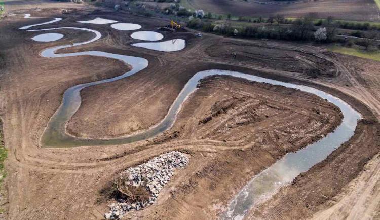 Jihomoravská řeka Trkmanka je o půl kilometru delší