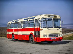Do Brna se vrátila retro Karosa, cestující vozila od šedesátých let