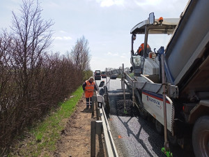 Řidiče čeká na silnici z Brna do Uherského Hradiště nová uzavírka