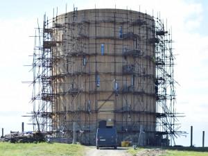 Na Brněnsku roste unikátní kaple, stavbě nepřeje počasí