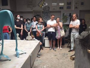 Brněnští umělci přivítali ve svých ateliérech širokou veřejnost i odborníky