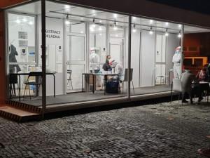 Testovací centrum na Výstavišti omezí svůj provoz