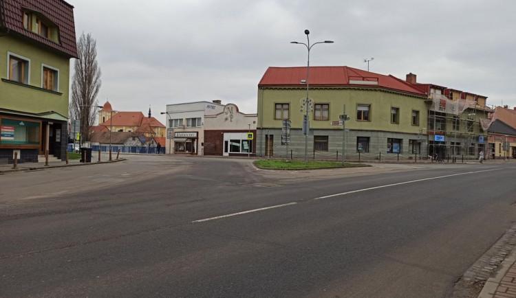 Centrum Veselí nad Moravou se uzavírá kvůli stavbě nových křižovatek