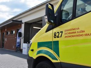 Nová základna jihomoravských záchranářů usnadní výjezd k pacientům