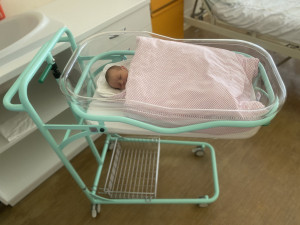 Jihomoravská miminka čekají v nemocnici nové postýlky