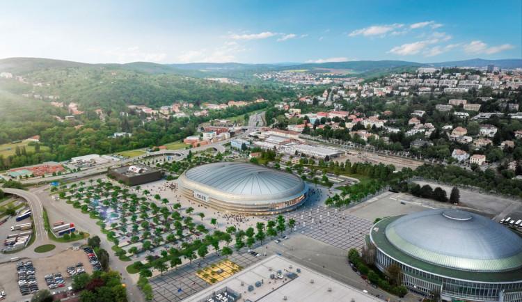 Aréna na výstavišti má stavební povolení, stavět se začne do roka