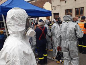 Likvidují doupě jihomoravských narkomanů, kvůli chemikáliím evakuovali okolí