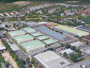 Místo bývalých továren nacistů a Zetoru vzniká nový průmyslový park