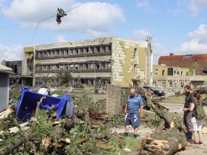 V Lužicích po tornádu skončily likvidační i demoliční práce
