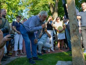 V Brně odhalili památník siláku Frantu Kocourkovi