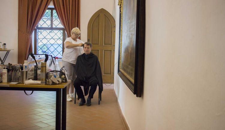 Otec genetiky Mendel se dostane do seriálu, natáčí se v Brně