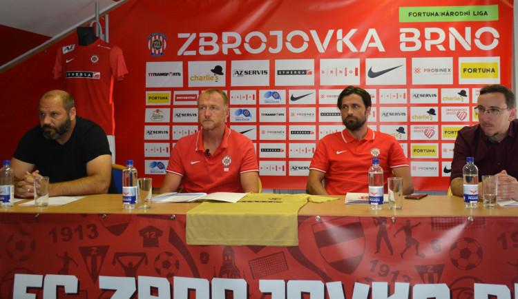 Role favorita se nezříkáme, říká trenér Zbrojovky Dostálek před startem ligy