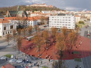 Mendlovo náměstí čeká dílčí proměna, kompletní rekonstrukce se odkládá