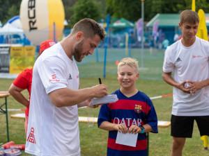 Olympijský festival v Brně si užívali sportovci i rodiny s dětmi