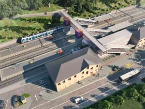 Rozsáhlá rekonstrukce adamovského nádraží začne na podzim