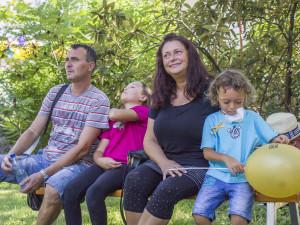 Děti i maminka mají rakovinu, naději našla rodina v brněnské nemocnici