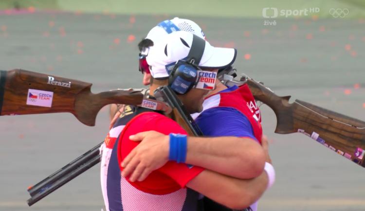 Zlato a stříbro. Brněnští brokaři si na olympiádě vystříleli medaile
