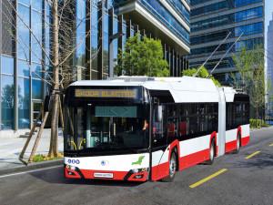 Do Brna míří čtyřicet kloubových trolejbusů, které mají i klimatizaci