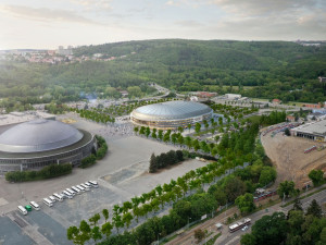 Brno dostalo miliardový úvěr na multifunkční halu