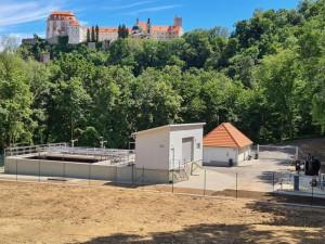Zmodernizovaná čistička vody lépe ochrání řeku i národní park