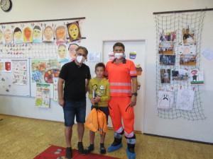 Malý hrdina Tobiáš ošetřoval zraněné po tornádu. Dostal pochvalu od záchranářů