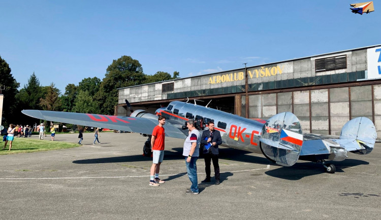 Ve Vyškově se koná slet československých letadel