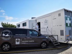 Očkovací truck zahájil svou cestu po Moravě