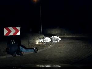 Policisté na Brněnsku zachránili při objížďce těžce zraněného motorkáře