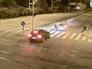 Děsivá nehoda v Brně. Řidič bez brzdění smetl chodkyni