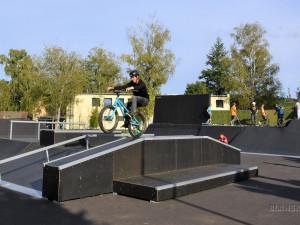 Lepší skatepark než v Brně. Blansko otevřelo opravené sportoviště