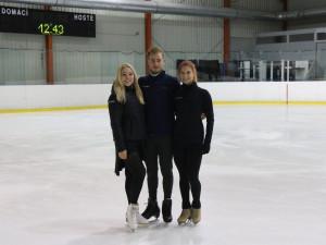 Brněnští krasobruslaři si splnili dětský sen, představí se na olympiádě
