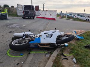 Motorkáře na Brněnsku zabila srážka s dodávkou