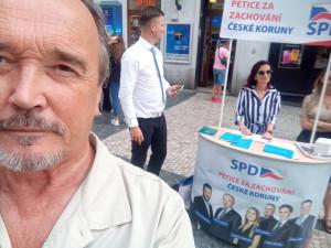 Bezpečí nemusí trvat dlouho, prodavači kebabu odvádějí daň na džihád, říká nový poslanec za SPD