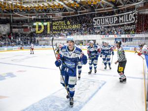 Hokejisté Brna porazili Olomouc 4:1 a uspěli potřetí za sebou