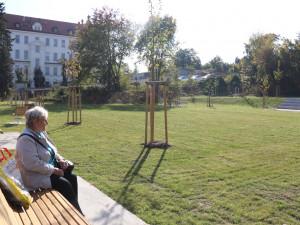 Místo bývalého doupěte bezdomovců a narkomanů vyrostl v Brně nový park