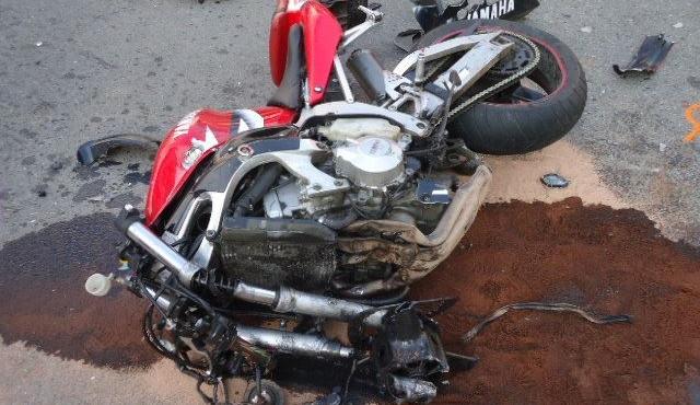 Nehoda v centru Brna, motorkář srážku nepřežil