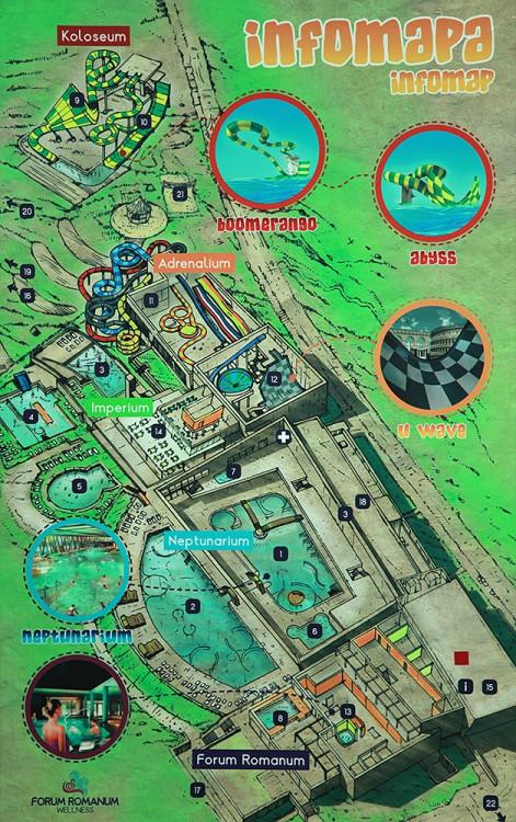 Mapa areálu