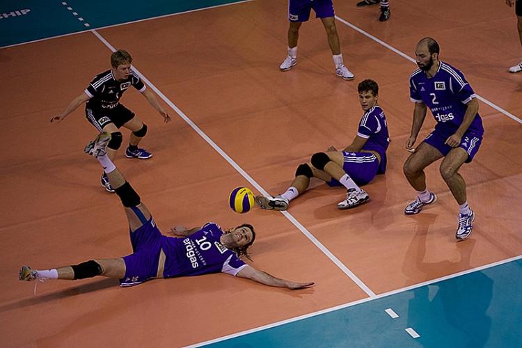 Volejbal Brno vs. Volley Amriswil