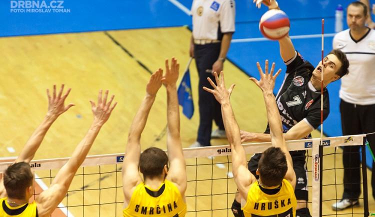 Volejbal Brno prohrál s favorizovaným Jihostrojem České Budějovice