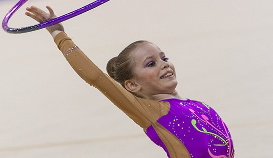 Brněnské moderní gymnastky vyhrály South Moravia Cup