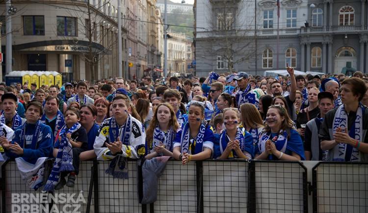 Fanoušci Komety mohou semifinále sledovat na Moravském náměstí
